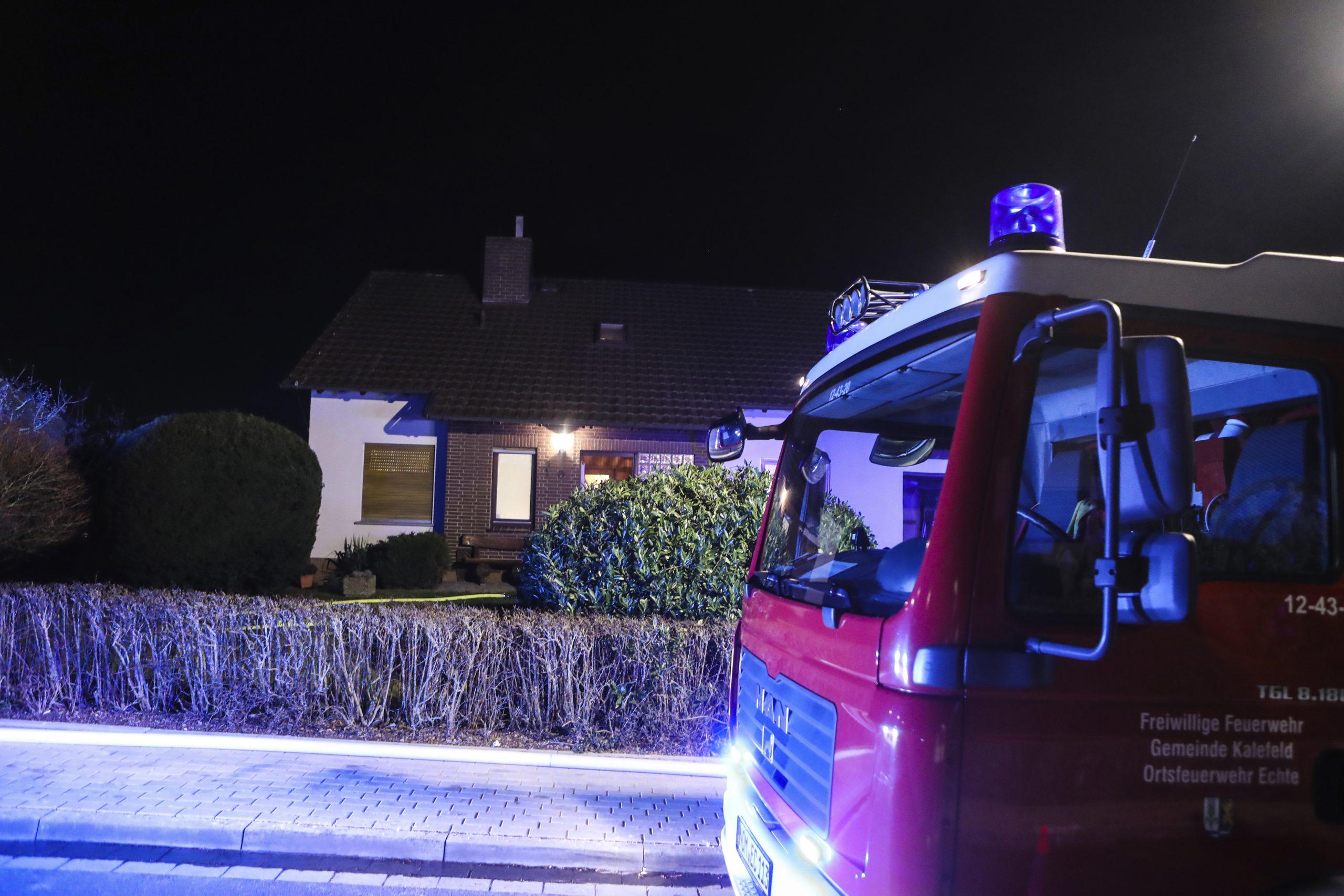 Schornsteinbrand: Feuerwehr in Buchenhöhe im Einsatz