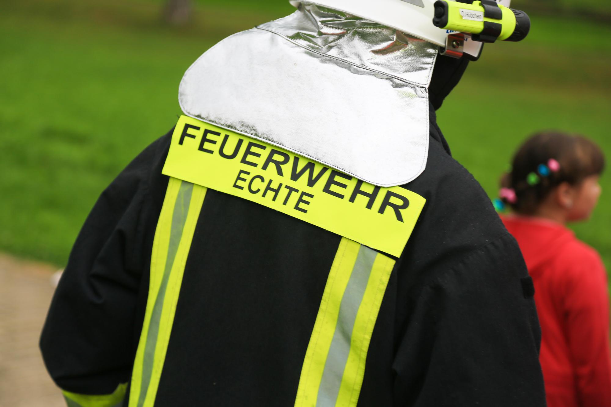 Brennende Plastiktüte: Einsatz in Seniorenheim