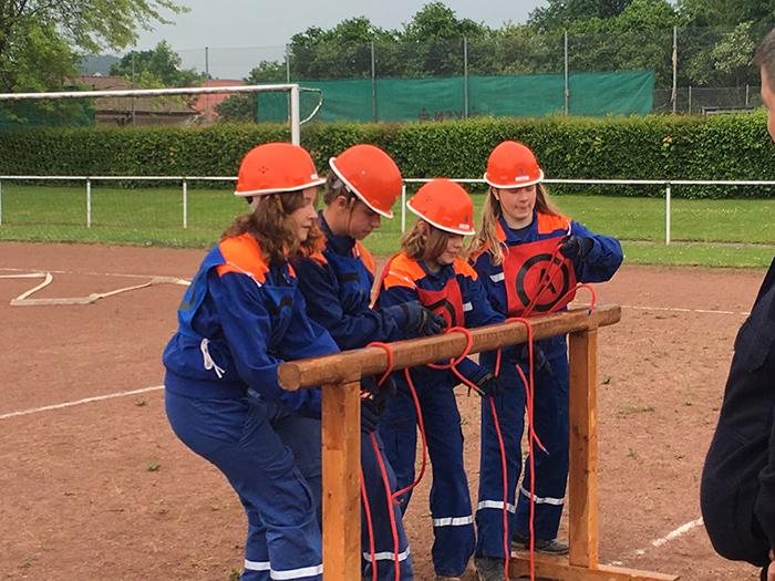 Wettbewerbe: Platz 15 für Jugendfeuerwehr Echte und Kalefeld