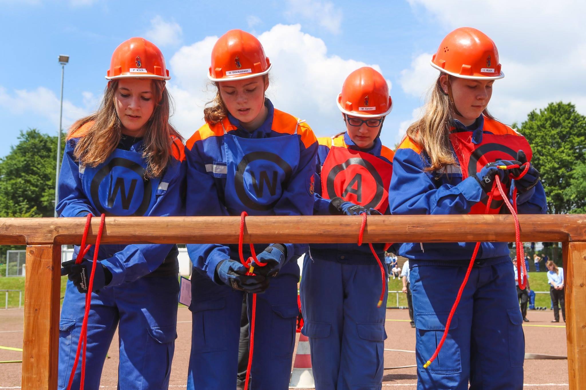 Jugendfeuerwehr Echte: Platz 21 mit jüngster Gruppe
