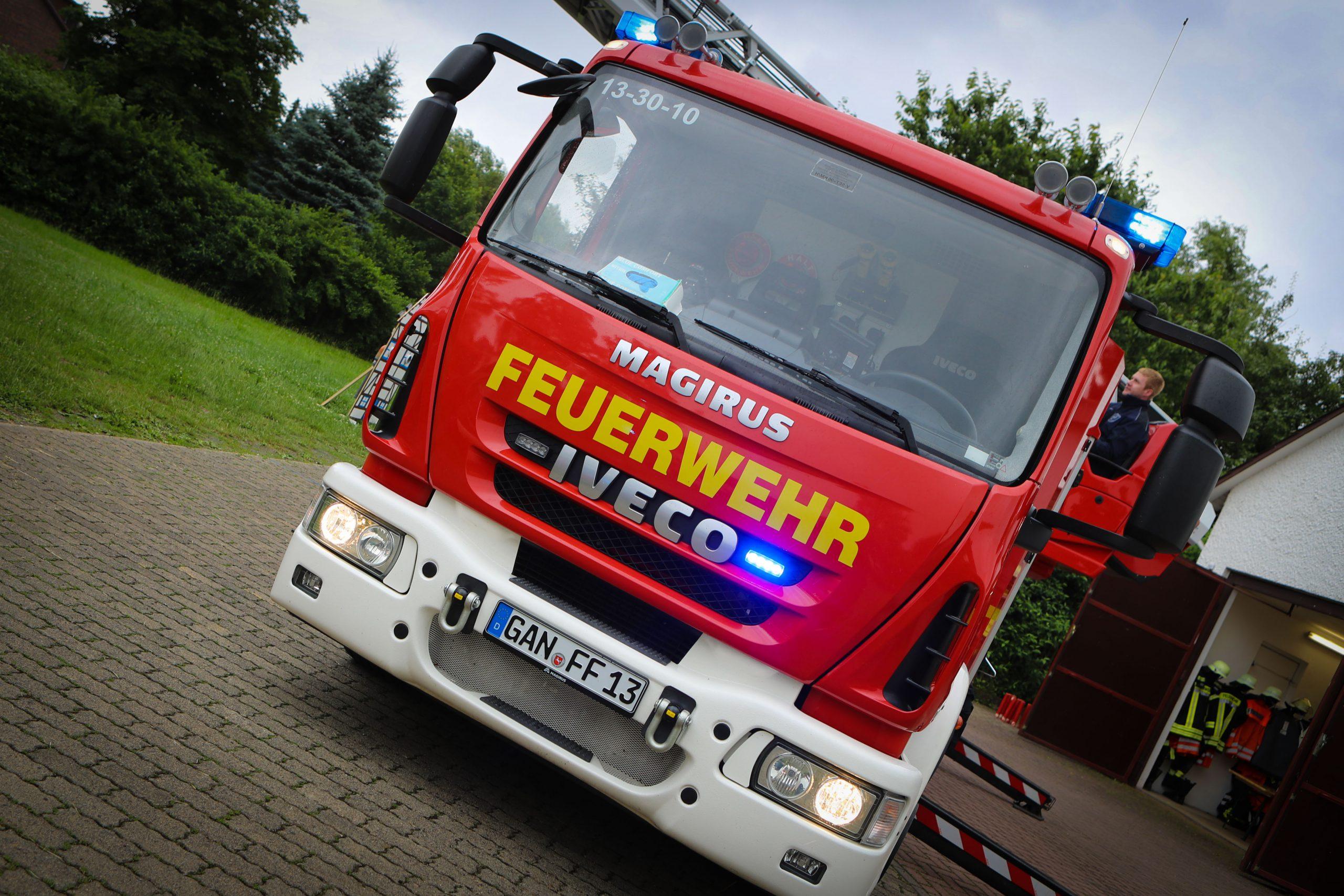 Staub löst Feuerwehreinsatz in Willershausen aus