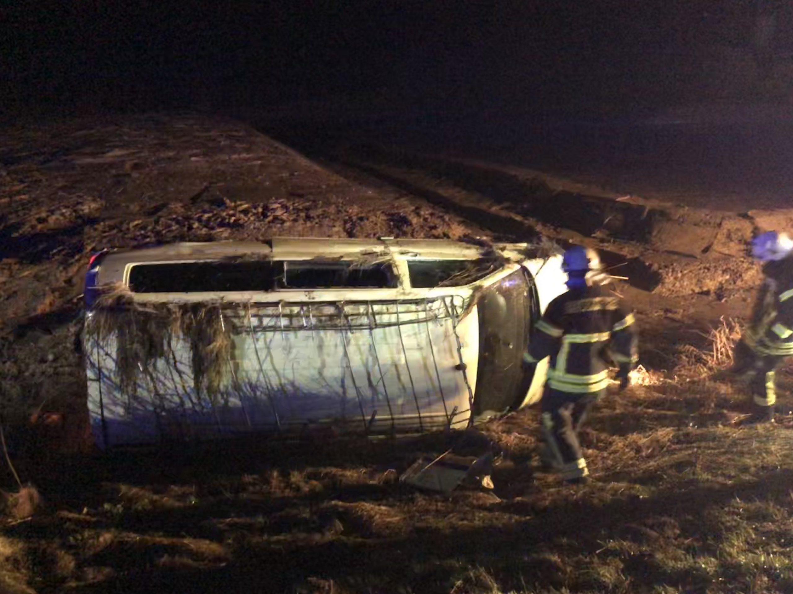 Dramatischer Unfall auf A7 bei Echte geht glimpflich aus