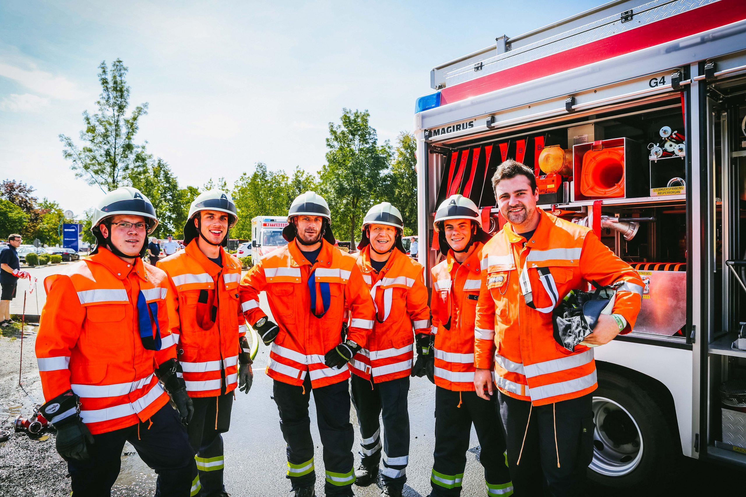 Starke Leistung: Feuerwehr Echte landet bei Kreisentscheid auf Platz 13