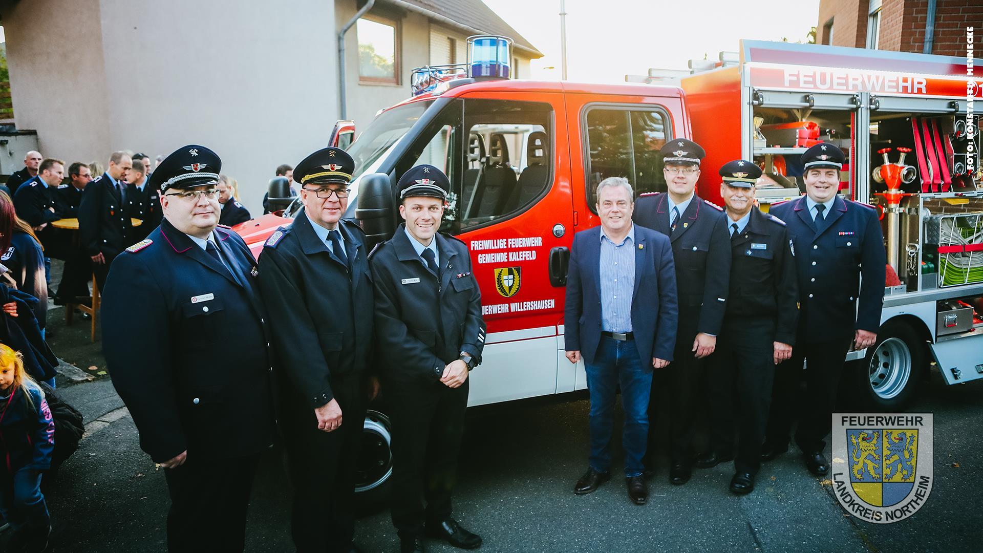 Schlagkräftiges Fahrzeug: Neues TSF-W für Feuerwehr Willershausen