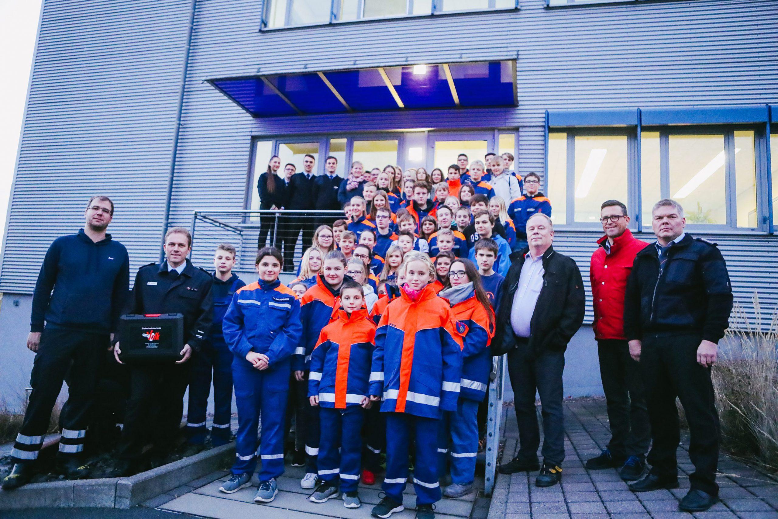 RKW spendet über 2000 Euro für Feuerwehren und Jugendfeuerwehr
