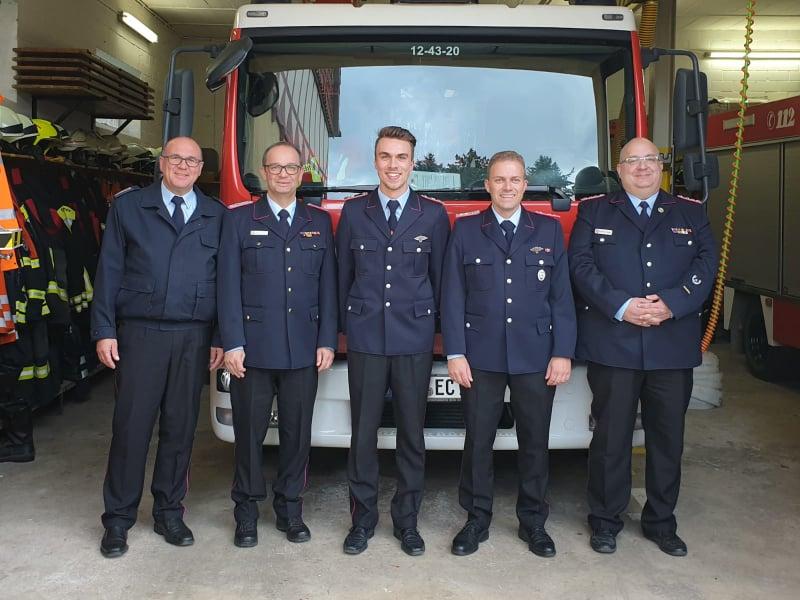 Führungswechsel in der Feuerwehr Echte